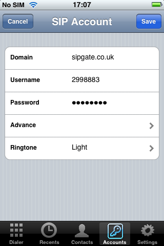 Native iPhone SIP Client Based on pjsip Available on App Store: Open